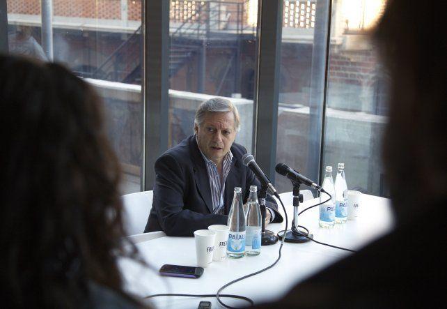 El ministro habló en rueda de prensa tras la audiencia.