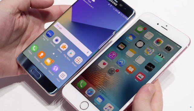¿Iphone 7 o Galaxy Note 7? Una exigente prueba de resistencia te da la respuesta