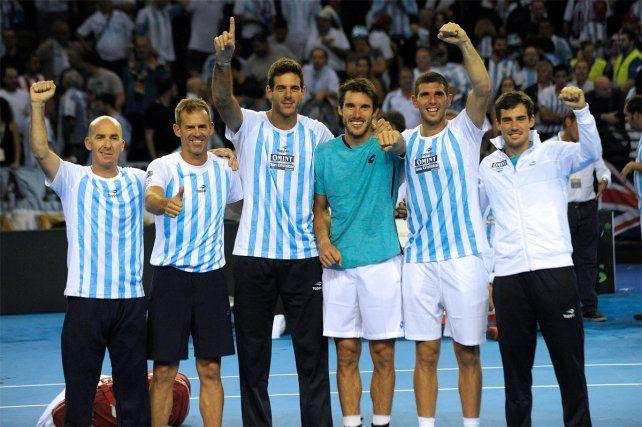 Argentina buscará en Croacia su primera Copa Davis, tras cuatro finales perdidas