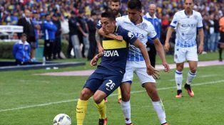 Boca no supo definirlo y empató 1 a 1 con Godoy Cruz en Mendoza
