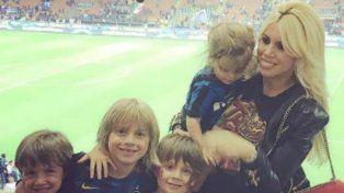 Wanda fue acosada por los fans tras el triunfo del Inter de Icardi en el clásico con la Juve