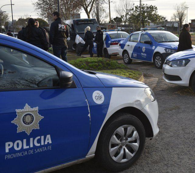 Una mujer fue baleada por asaltantes que escapaban de un robo