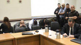 A prisión. Los policías conocieron sus sentencias en una audiencia realizada ayer en los Tribunales provinciales.