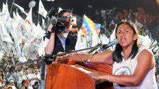 Acordaron la conformación de una mesa de trabajo para analizar la situación de la detención de la líder de la Tupac Amaru y otros diez dirigentes sociales.