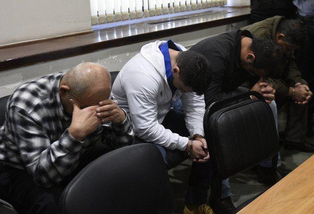 Los policías conocieron la sentencia en los Tribunales provinciales.