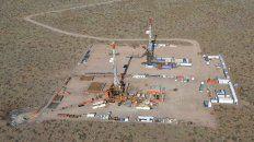 El establecimiento de explotación petrolífera de Vaca Muerta.