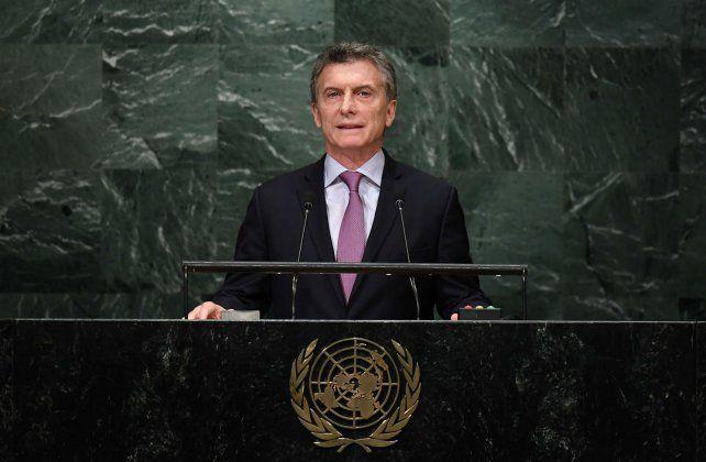El mandatario debutó en la Asamblea General de las Naciones Unidas.