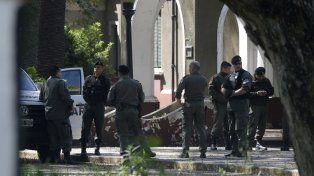 Destacamento móvil II. Representantes de distintas fuerzas federales se reunieron ayer en dependencias de Rosario.