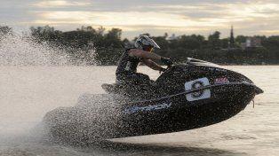 Acelera. El rosarino intervendrá en el Lake Havasu del Estado de Arizona. Es su segundo campeonato mundial.