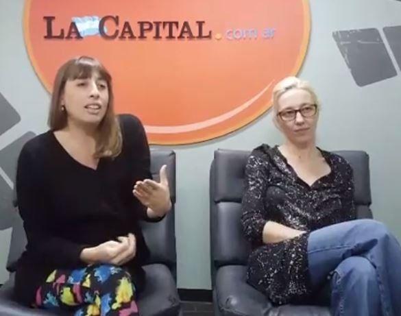 Las escritoras Fernanda Nicolini y Alicia Beltrami hoy en La Capital hablaron del libro Los Osterheld