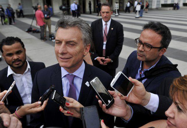 El presidente Mauricio Macri ratificó en Estados Unidos que la lucha contra el narcotráfico es prioridad para su gobierno.
