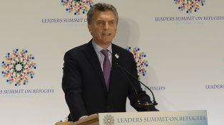 El presidente Mauricio Macri quedó en el medio de la polémica por su postura sobre Malvinas.