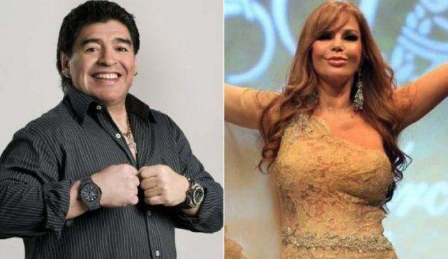 La Alfano reapareció y no dudó en mandar al frente a Maradona