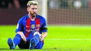 Messi se lesionó y se lo va a extrañar