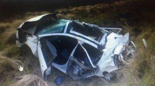 En un accidente, murió una hija del Pájaro Cantero cerca de Bahía Blanca