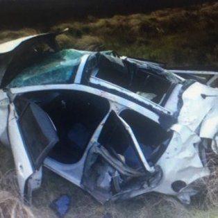 en un accidente, murio una hija del pajaro cantero cerca de bahia blanca