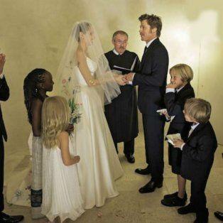 La boda de Brad y Angelina fue hace sólo dos años.