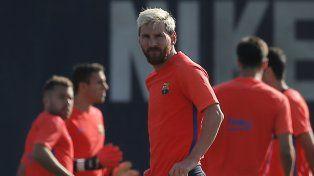 Messi aseguró que tener que parar por lesión lo ayudará a volver más fuerte.