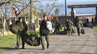 Agapito Blanco adelantó que llegarán efectivos de Gendarmería