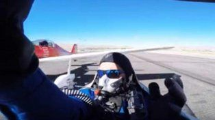 Una competencia de aviación en Reno