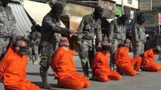 Yihadistas pertenecientes al Estado Islámico (Isis
