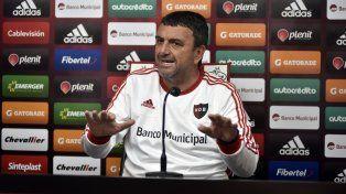 El entrenador leproso Diego Osella.