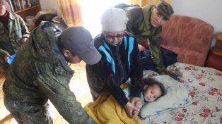 Tserin Dopchut fue hallado el miércoles en un bosque a unos tres kilómetros de su aldea