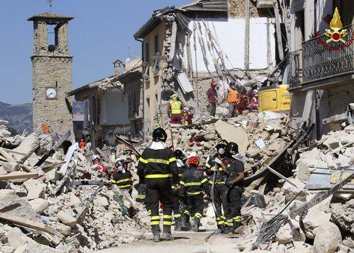Amatrice. El pueblo del medioevo fue uno de los más castigados por el terremoto del 24 de agosto.