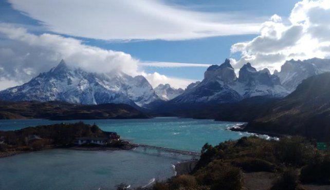 Majestuoso. El paisaje del Parque Nacional Torres del Paine