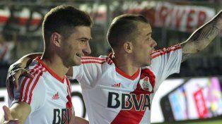 Gol y talento. Lucas Alario y Andrés DAlessandro