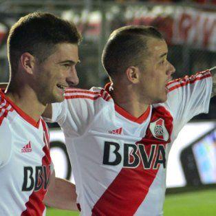 Gol y talento. Lucas Alario y Andrés DAlessandro, indiscutidos en los millonarios.