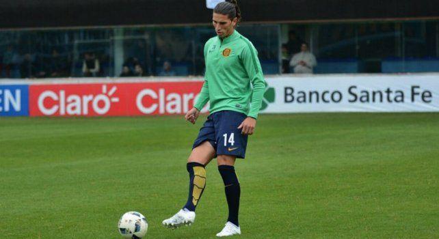 Dylan Gissi llegó a Central proveniente del Montpellier francés.