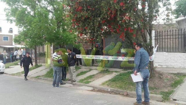 La mujer se descompensó luego de ser asaltada por motochorros. (Foto: Gentileza La Voz)