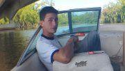 Gabriel, de 23 años, desapareció ayer al mediodía.