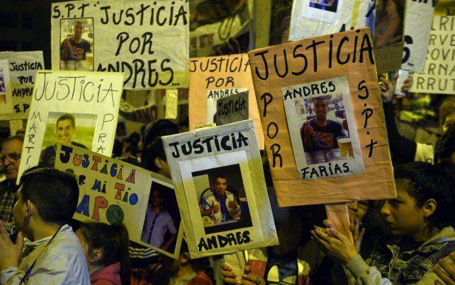 El quiebre. El 25 de agosto miles de rosarinos salieron a la calle a exigir seguridad y justicia.