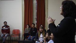 El viernes pasado se realizó el Primer Encuentro de Personas Sordas.