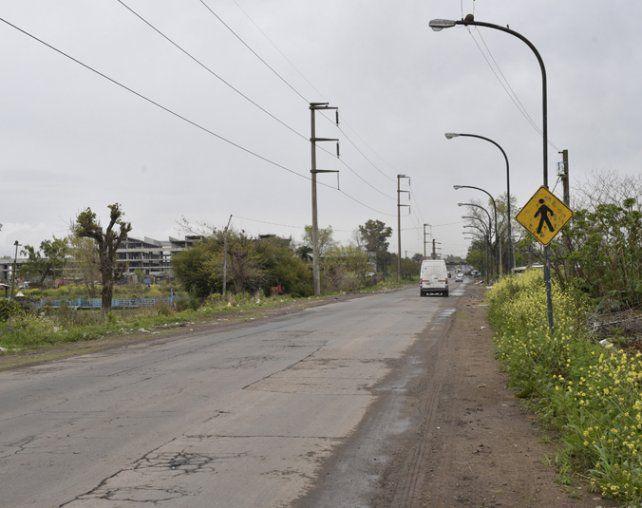 Sur. El confuso episodio ocurrió en San Martín al 7200