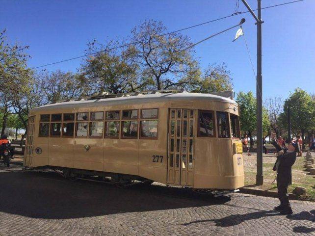 El tranvía histórico