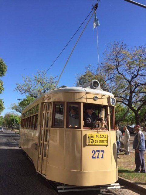 El viejo tranvía vuelve a circular este domingo y gratis por Rosario