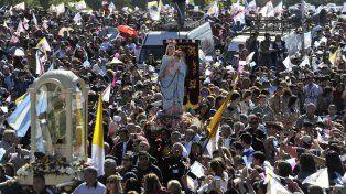Fue una de las celebraciones de la Virgen más concurridas desde 1983