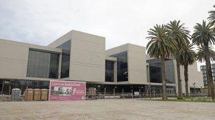 en marcha. En los últimos meses la edificación del nuevo complejo judicial muestra avances considerables.