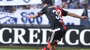 Ante Quilmes. Nacho forzó que le cometieran penal y lo ejecutó para el 1-0 final.