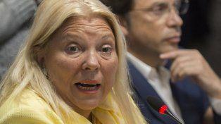 filosa. La diputada volvió a cargar contra sus ex aliados políticos.