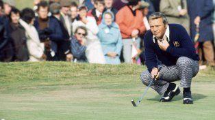 Murió el jugador que popularizó el golf con su carisma y su estilo agresivo