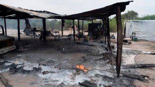 bajo hondo. El Mocase denuncia el ataque a la comunidad guaycurú.