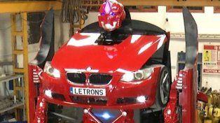 El increíble Transformer basado en un modelo de BMW