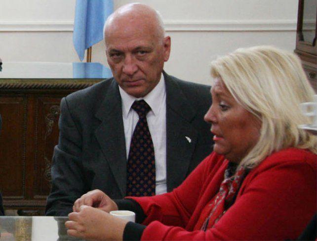 Antonio Bonfatti y Elisa Carrió