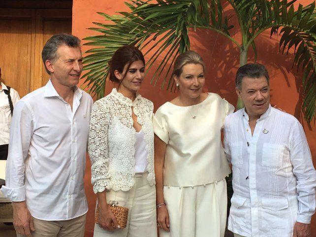 Macri, al llegar a Colombia: Deseamos que este proceso de paz sea un éxito