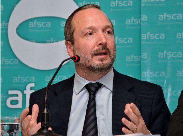 Sospechado. Martín Sabbatella dirigió el organismo entre 2012 y 2015.