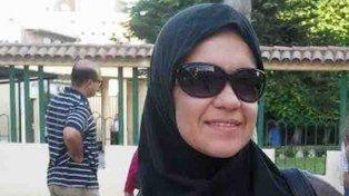 Carolina Pavón. La argentina de 39 años que padece un calvario en Egipto.